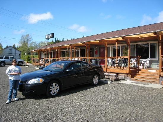 Quinault River Inn: amanda park