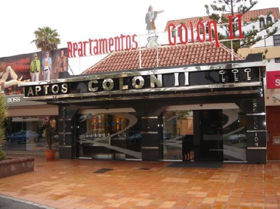 Colon II Apartments: Entrance