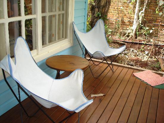 Secret Garden Iguazu B&B : veranda