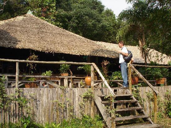 Amazon River, AM: main lodge