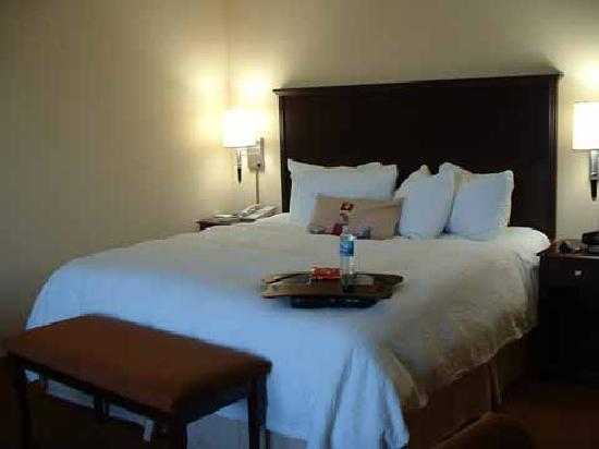 Hampton Inn & Suites Rogers: Bed