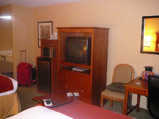 Holiday Inn Express Prescott: TV, Kühlschrank, Mikrowellengerät