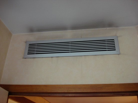 BEST WESTERN Hotel du Pont Wilson: Dirty air-vent