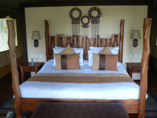 Sarova Mara Game Camp: Bedroom