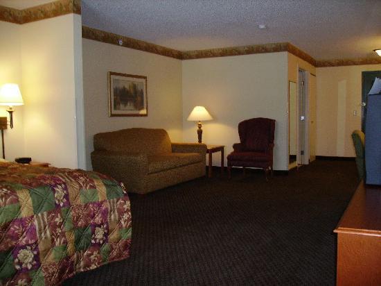 Country Inn & Suites By Carlson, El Dorado: Our Studio Suite