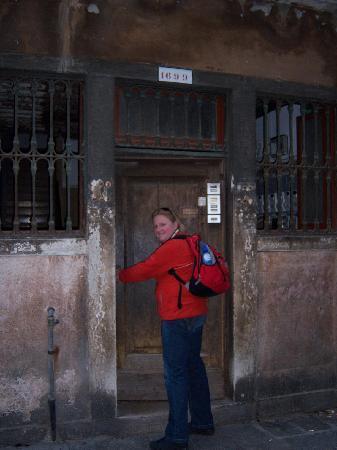 B&B Rota: the front door