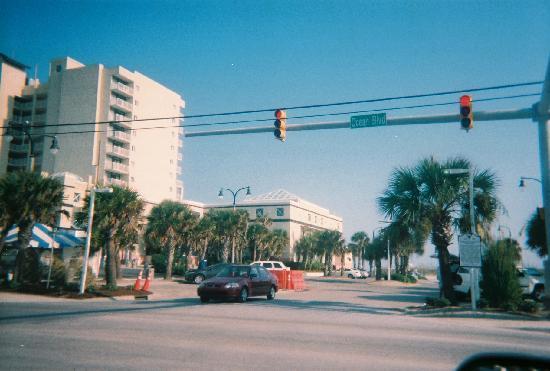 North Myrtle Beach Sc Main Street Ocean Boulevard