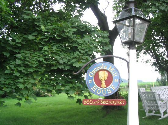 Osceola Mill House Bed and Breakfast : Welcome to Peaceful PA Dutch Country!