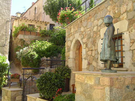 Tossa de Mar, Espanha: Inside the walls
