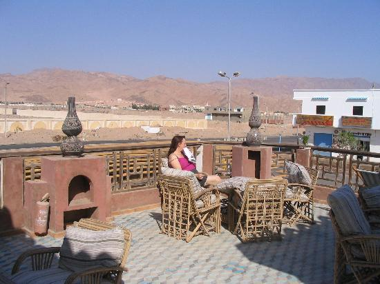 Alf Leila Boutique Hotel.: On the communal terrace