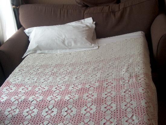 Hôtel Amarante Beau Manoir : sofá cama
