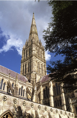 ‪‪Salisbury‬, UK: Salisbury Cathedral Spire‬