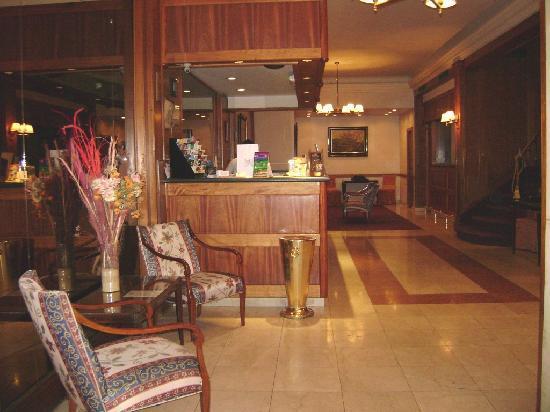 Regis Orho Hotel: Lobby del Hotel