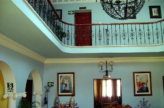 Casa Arequipa lobby upstairs