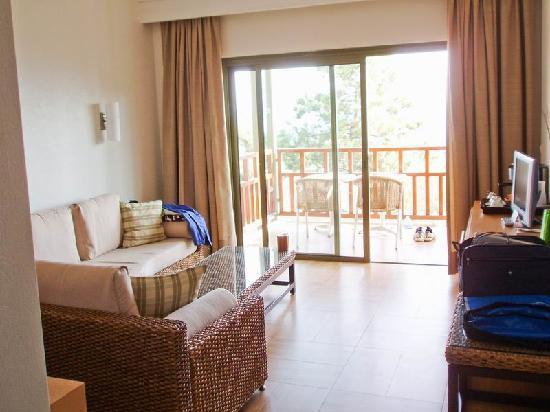 Club Med Palmiye: Sitting room (suite)