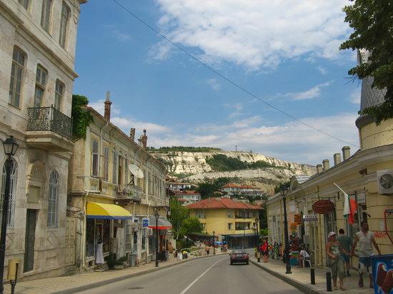 Balchik, Bulgarien: street