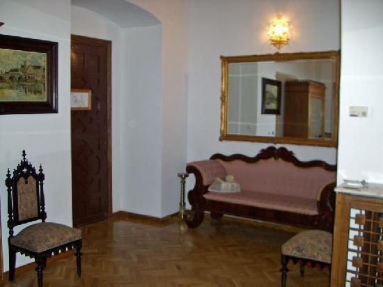 Guadalupe, Spania: Coin Salon dans la chambre