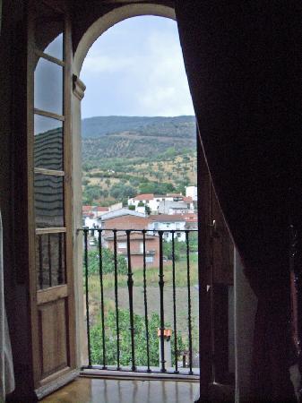 Guadalupe, Spania: Vue sur la sierre de la chambre
