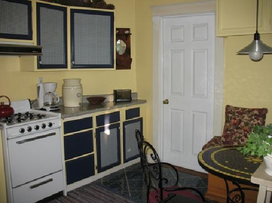 Sanborn Guest House: La cocina