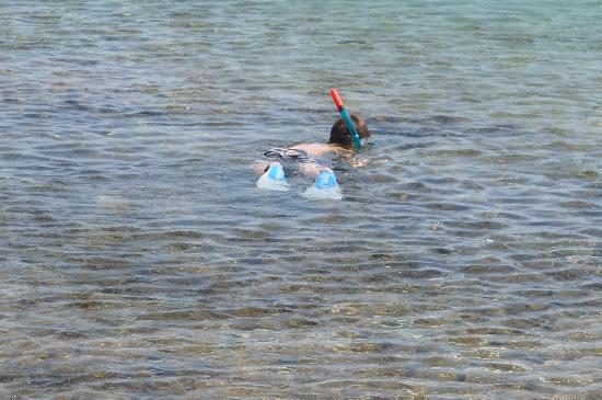 Candia Park Village: snorkelling