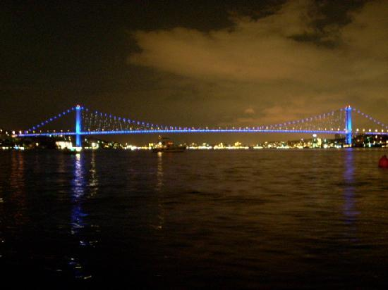 Sumahan on the Water: Night panorama from the hotel