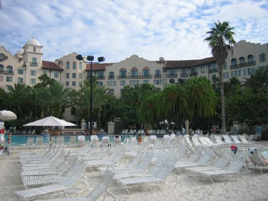 Hard Rock Hotel at Universal Orlando: view of beach at poolside