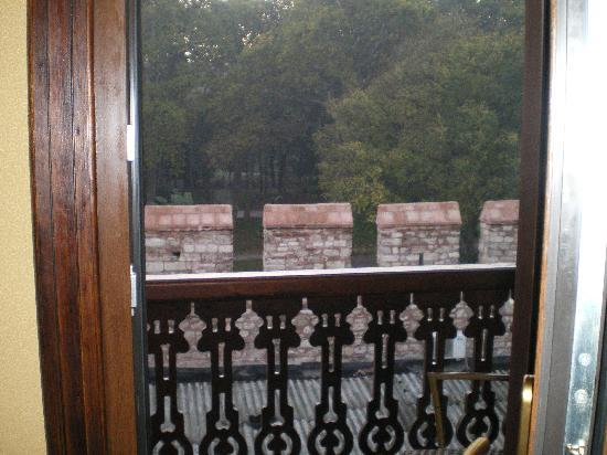 Sirkeci Mansion: view from the balcony