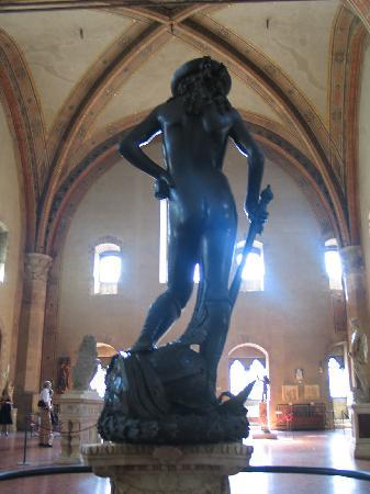 Florence, Italy: El David de Donatello (Museo Bargello)