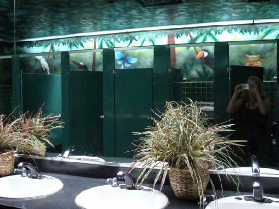 Clean Restrooms Picture Of Rain Forest Cafe At Mgm
