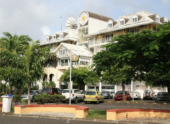 Pointe-a-Pitre, Guadeloupe: Hotel Saint John Perse