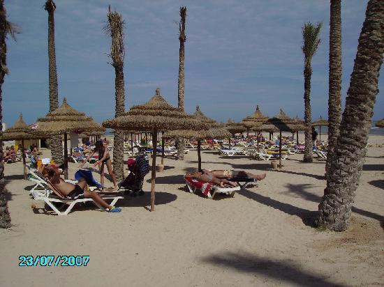 Club Diana Rimel Djerba: Plage