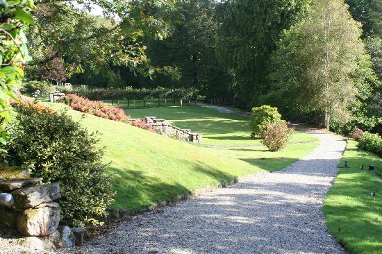 Gidleigh Park : Time to walk off that meal!