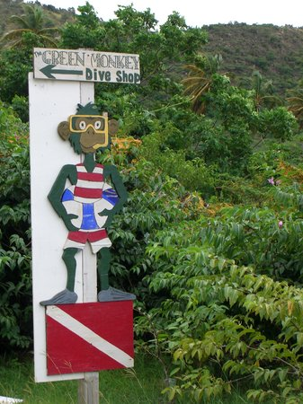 Montserrate: Green Monkey Sign