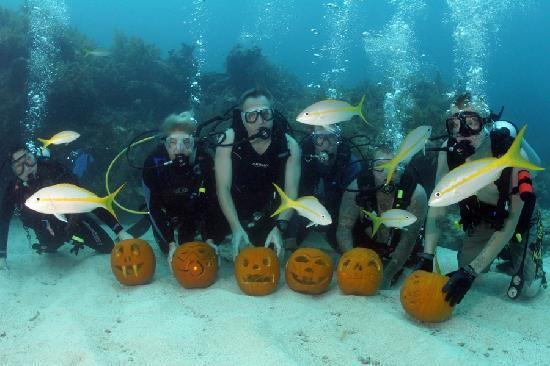 Port Largo Villas: Underwater Pumpkin Party