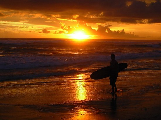 Santa Teresa, Costa Rica : Sweet Ending to a Perfect Day