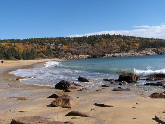 Bar Harbor Inn: Sand Beach, Acadia Nat'l Park