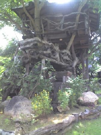 Cave Cliff Tarzan River Kwai Resort: My treehouse
