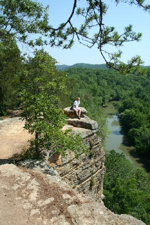 Narrows of the Harpeth: Harpeth River Overlook 2