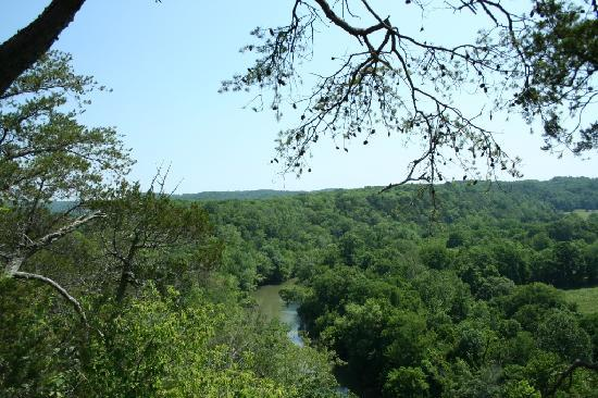 Narrows of the Harpeth: Harpeth River Overlook 3