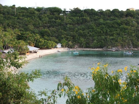 Virgin Islands Campground : Honeymoon Beach is PERFECT!