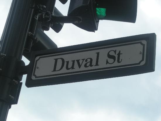 Duval Street: Sign