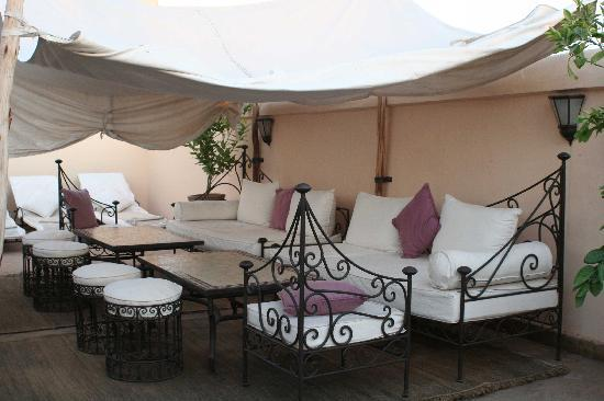 Dar Elma: La terrasse
