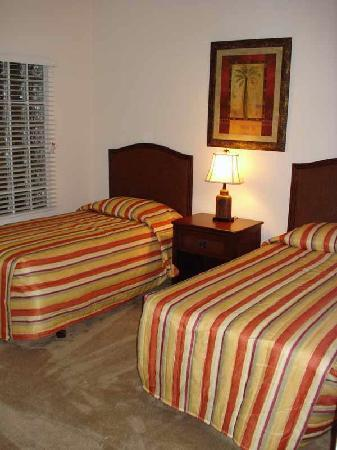 Caribe Cove Resort Orlando: 3rd Bedroom - 2 Twin Beds