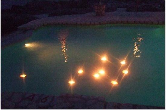 Pool With Floating Candles Picture Of Tensing Pen Resort Negril Tripadvisor