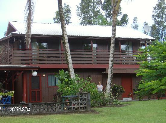 Hale Moana Bed & Breakfast: Makamae Studi and Garden Suite Entrances