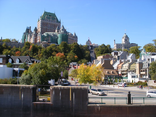 Québec, Canada: Quebec from the Leve Ferry
