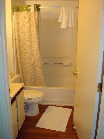 Extended Stay America - Chicago - Lombard - Yorktown Center: Tiny bathroom