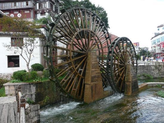 Zen Garden Hotel (Wuyi Yard): Lijiang Waterwheel