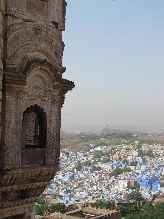 Umaid Bhawan Palace Jodhpur: Jodhpur from the fort