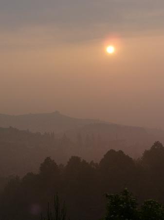 Morgendunst über Canale
